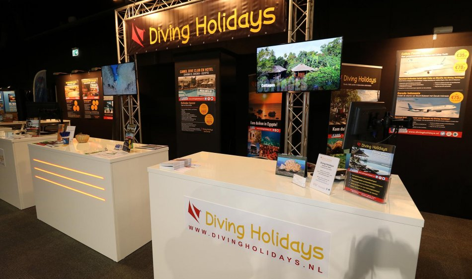 Diving Holidays stand 2019