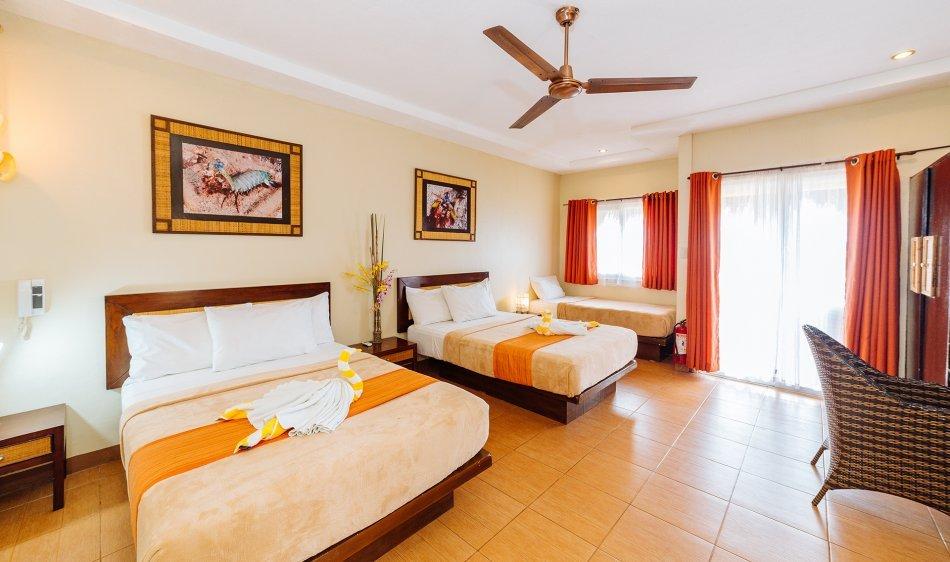 Buceo Anilao Beach & Dive Resort - Superior kamer met zeezicht