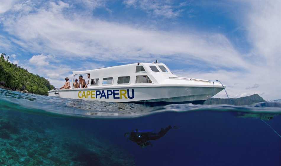 Nabucco's Cape Paperu Resort - Diving Holidays